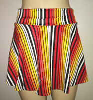 Skirt swimwear bottom. Skirted swim bottoms.