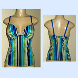 Push up tankini top