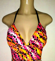 Short tankini top. Custom tankinis for women