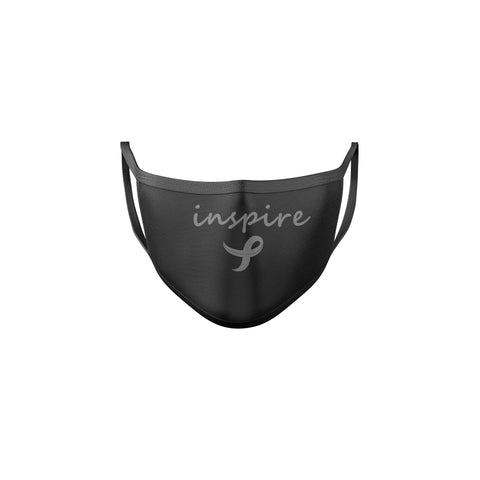 Inspire Brain Cancer Awareness Reusable Mask