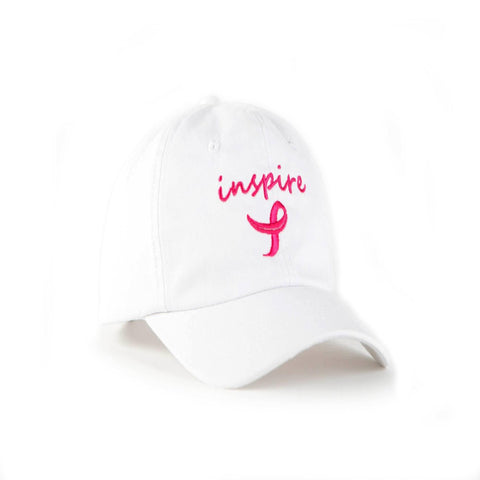 Inspire Breast Cancer Awareness Dad Hat