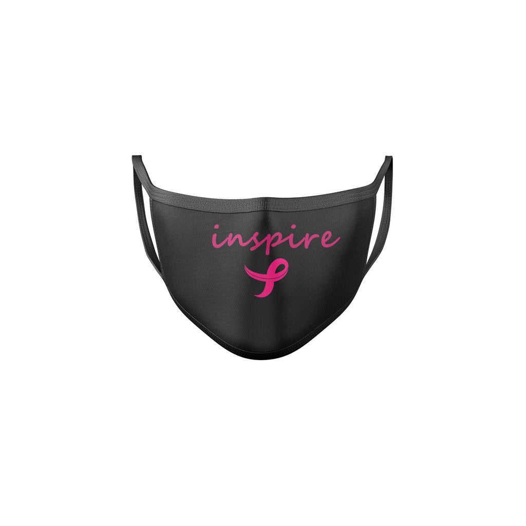 Inspire Breast Cancer Awareness Reusable Mask