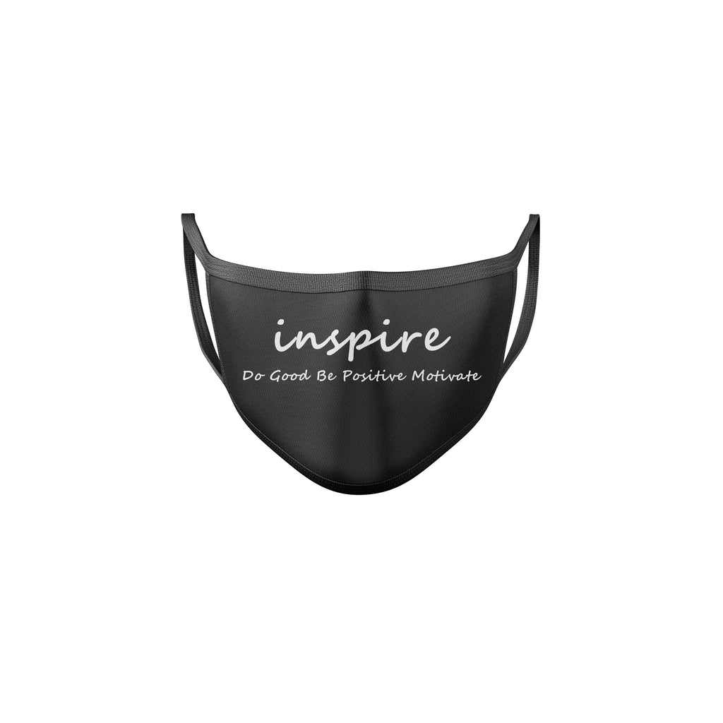 Inspire Black & White Reusable Mask
