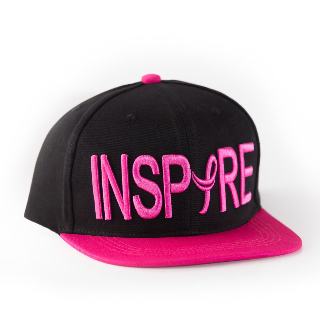 Inspire Breast Cancer Awareness Snapback Hat