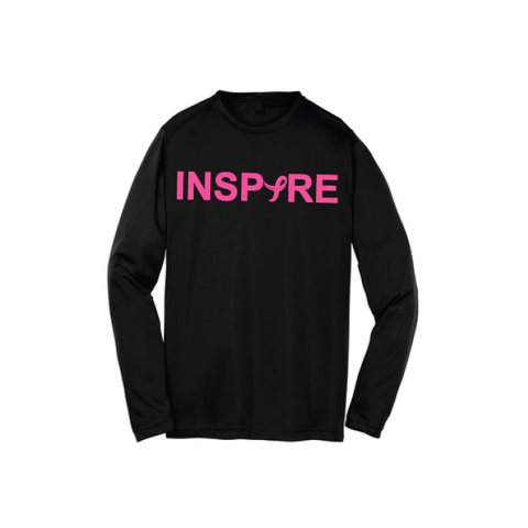 Inspire Men's Breast Cancer Awareness Long Sleeve