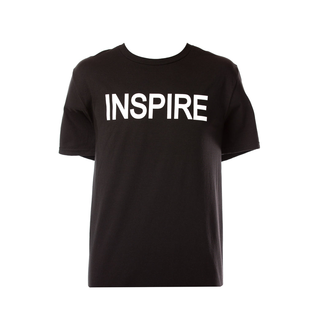 Inspire Black & White Men's T-Shirt Sold Out