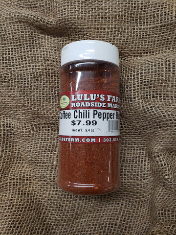 Coffee Chili Pepper Rub