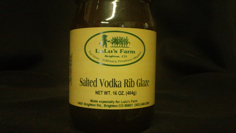 Salted Vodka Rib Glaze