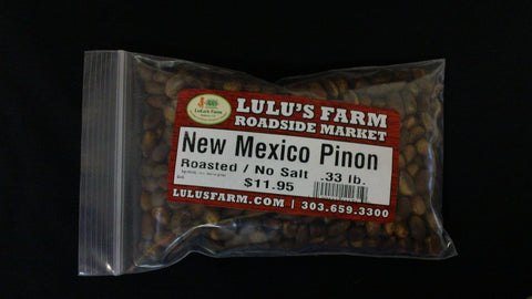 New Mexico Pinon Roasted No Salt .33lb. Bag