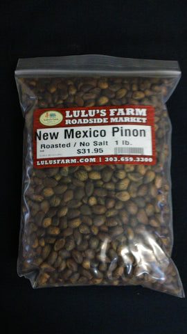 New Mexico Pinon Roasted  No Salt 1lb. Bag