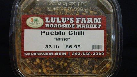 Pueblo Chili Hot (crushed)