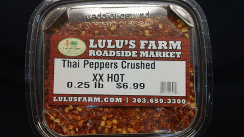 Thai Peppers (crushed) XX-Hot