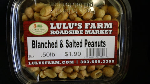 Peanuts Blanched, Salted