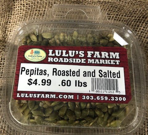 Pepitas, Roasted and Salted