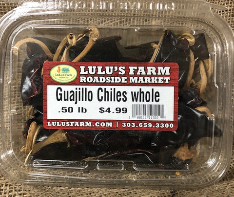 Guajillo Chiles Whole