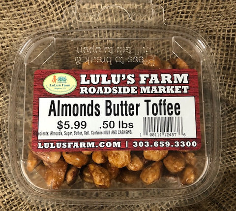 Almonds Butter Toffee