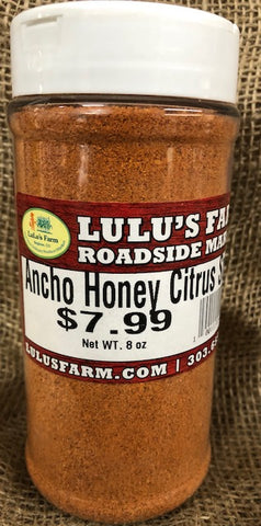 Ancho Honey Citrus Spice
