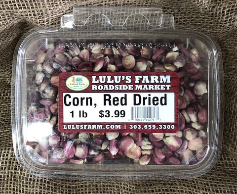 Corn, Red Dried