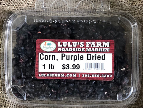 Corn, Purple Dried