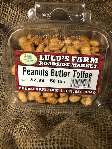 Peanuts Butter Toffee