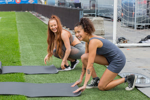 Melina Invites you to the Fitness by Jacflash x Toronto Argos CO-ED Yoga Workshop on July 6th!
