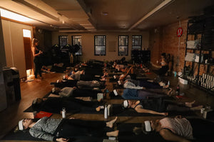 04/02/19 Fitness by Jacflash's Power Yoga Workshop with Kay Ghajar and a Discussion on the Benefits of CBD with Antuanette Gomez, Founder of Pleasure Peaks,