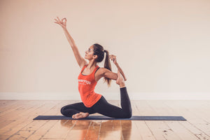 01/22/18 Fitness by Jacflash's Women's Power Yoga Workshop with Kay Ghajar and Wellness Enthusiast and Essential Oils Educator Jenn Abbatiello