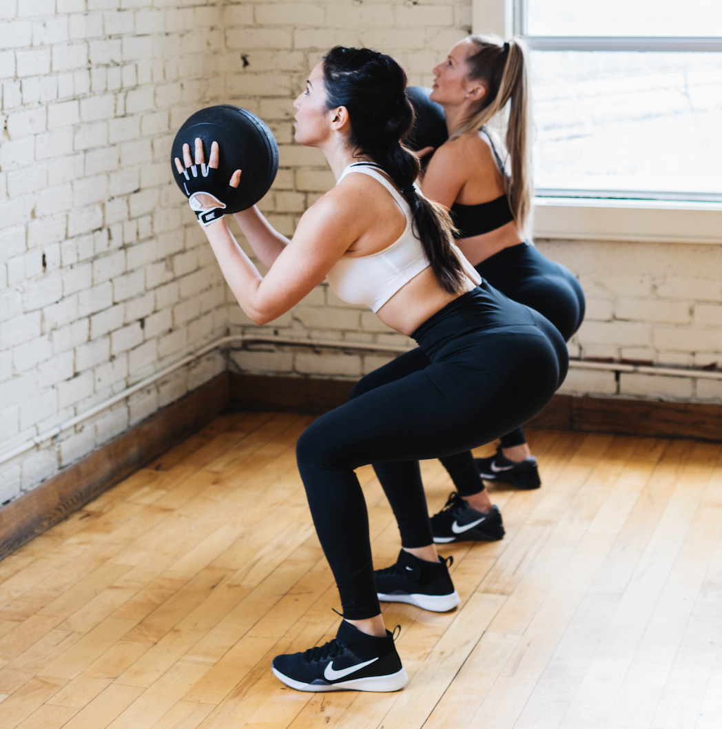 02/04/18 Fitness by Jacflash's, Women's Booty and Back Workshop with Trainer Lara Marquez and Holistic Nutritionist and Skin Coach Lisa Holowaychuk