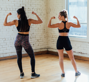 02/11/18 Fitness by Jacflash, Women's Legs, Booty and Shoulder Workshop with Trainer Lara Marquez and Owner of Sugar Toronto, Karen Holek