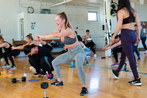 03/25/18  Fitness by Jacflash, Women's Back and Booty Workshop with Trainer Lara Marquez and Nutrition & Wellness Specialist Elisa Graci