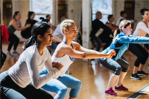 04/15/18 Fitness by Jacflash, Women's Chest and Booty Workshop with Trainer Lara Marquez and Munira Hudani, a Physiotherapist who specializes in Pelvic Health