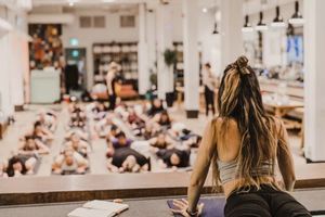 04/25/18 Fitness by Jacflash's Women's Power Yoga Workshop with Kay Ghajar and Crystal Healer Miriam