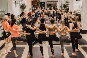 05/09/18 Fitness by Jacflash's Women's Power Yoga Workshop with Kay Ghajar and My Sister Meagan Wilson!