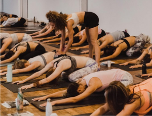 09/25/18 Fitness by Jacflash's Women's Power Yoga Workshop with Kay Ghajar and The Wellness Witches with Musical Accompaniment by Sophie Lukacs on the Kora
