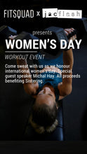 03/08/18 Women's Day Workshop with Fitness by Jacflash and Fit Squad!