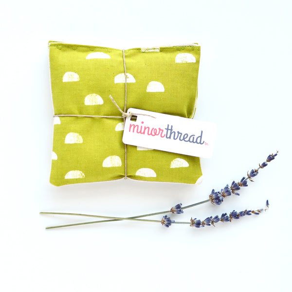 Organic Lavender Sachets in Moons in Grass