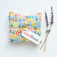Organic Lavender Sachets in English Garden Cream - Set of 2