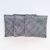 Set of 3 Lavender Sachets in Hatch Black
