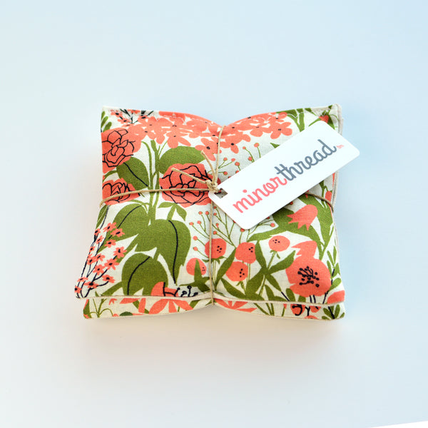 Organic Lavender Sachets in Mazy's Floral - Set of 2