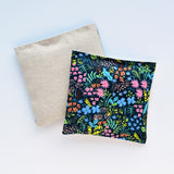 Set of 2 Lavender Sachets English Garden Black