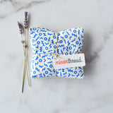 Organic Lavender Sachets in Cobalt Shapes - Set of 2