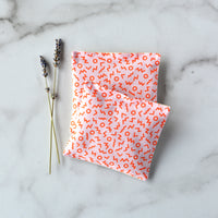 Organic Lavender Sachets in Shapes in Pink - Set of 2