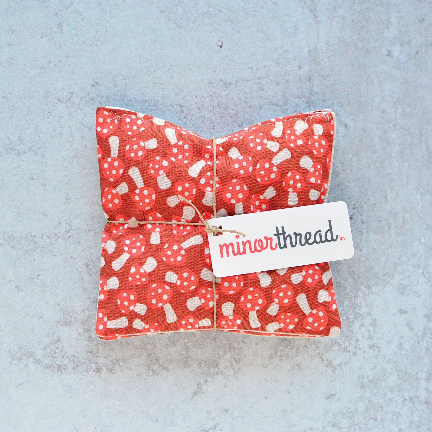 Lavender Sachets in Red Mushrooms - Set of 2