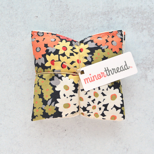 Organic Lavender Sachets - Autumn Floral- Set of 2