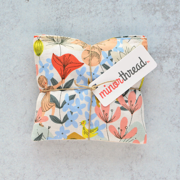 Organic Lavender Sachets - Floral Playground - Set of 2