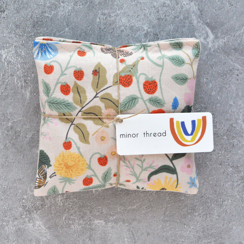 Organic Lavender Sachet Bundle in Pink Strawberry Fields