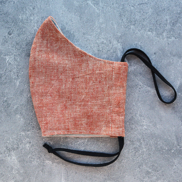 Red Rock Linen Face Mask - Choose Your Size