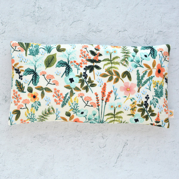 Oversized Eye Pillow in Amalfi Herb Garden Cotton