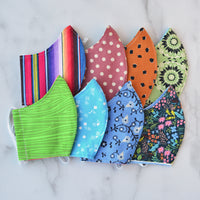 Seconds Sale: Medium Cotton Face Mask - Choose Your Pattern