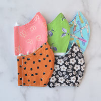 Seconds Sale: Small Cotton Face Mask - Choose Your Pattern